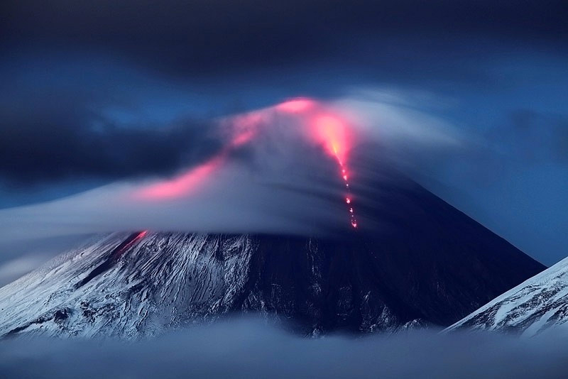 Ski the Kamchatka Volcano in Russian travel Adventures