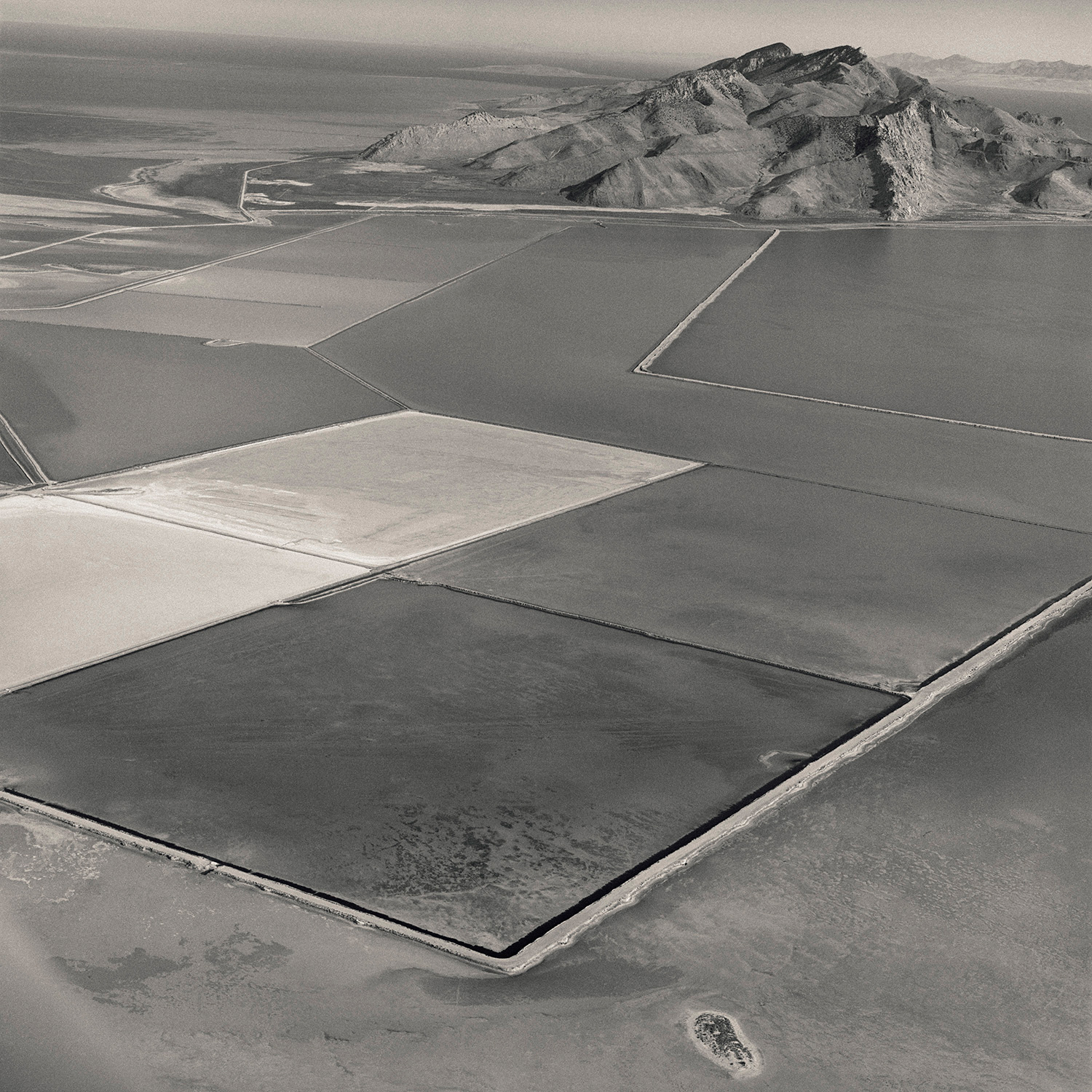 David Maisel, Black Maps (Great Salt Lake, Utah 1), 1985.