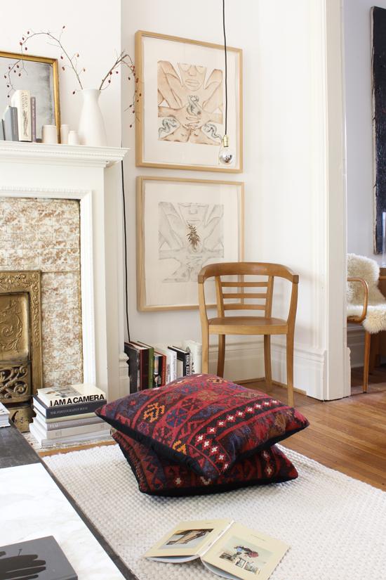 kilim floor pillows the marion house book