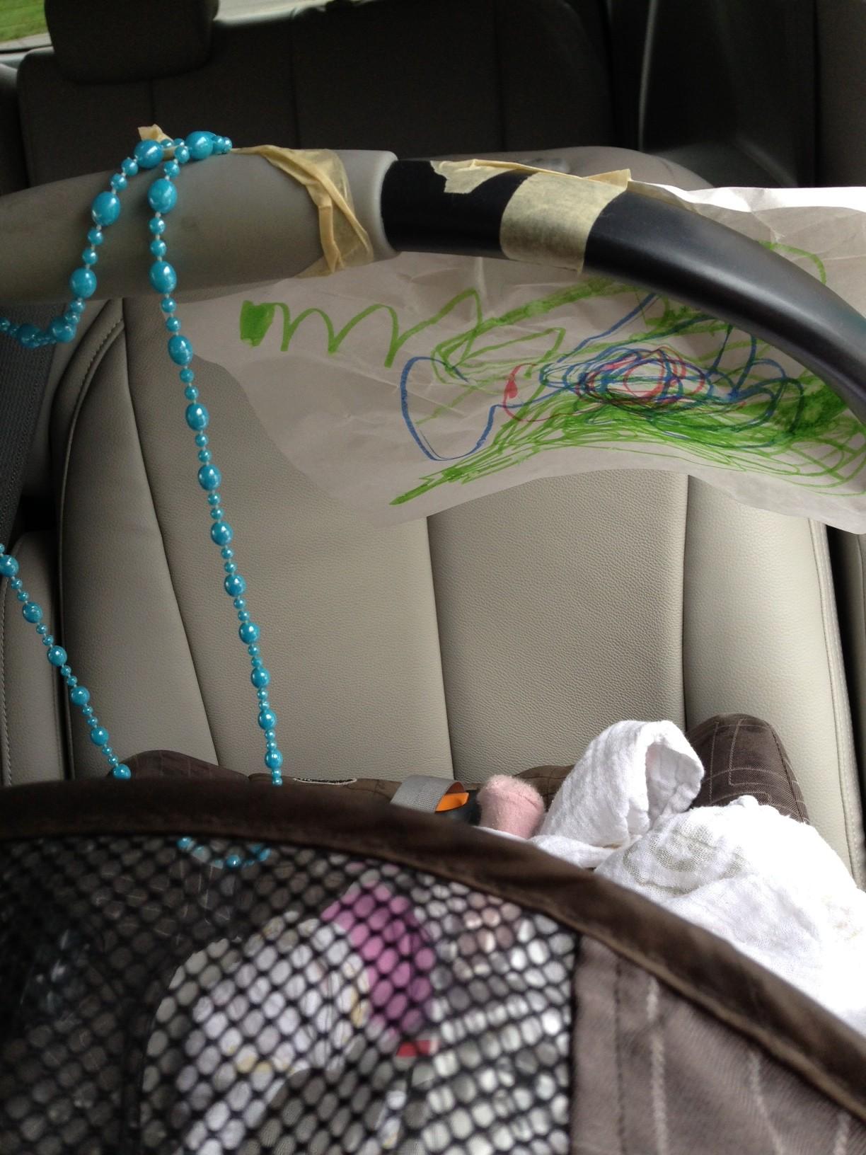 car seat entertainment