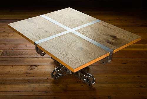 Steel Truss and Beam Tables by Brandner Design — KIBWE DAISY DESIGN