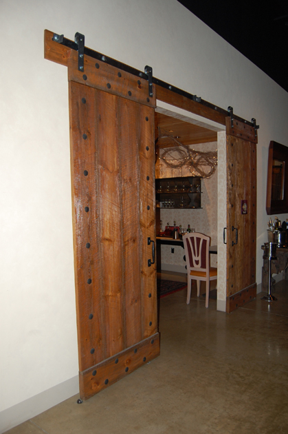 Heavy Metal Screen Door