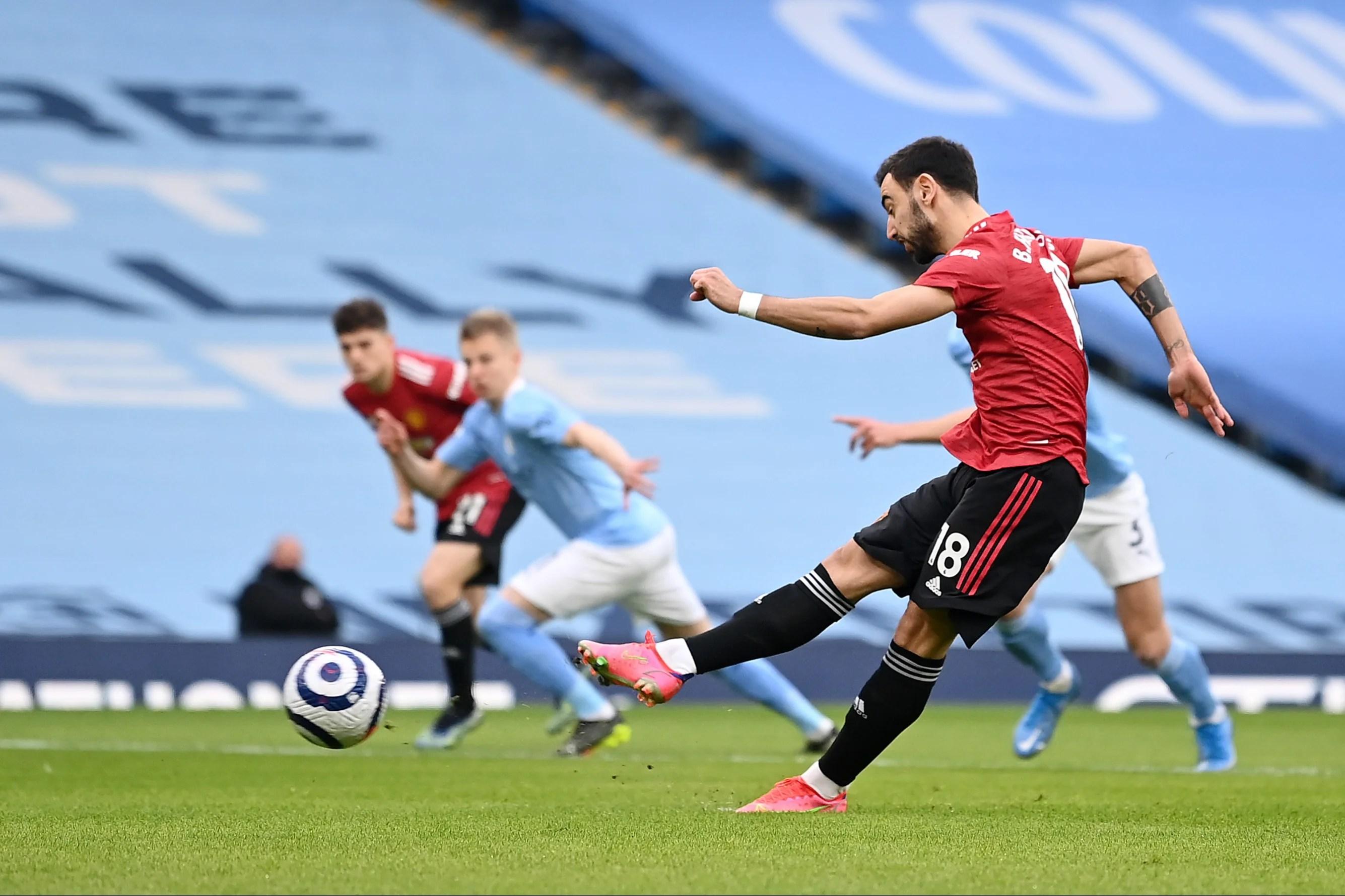Man City 0-2 Man United LIVE! Manchester derby match result - Bruno  Fernandes and Shaw goals end City run   Evening Standard