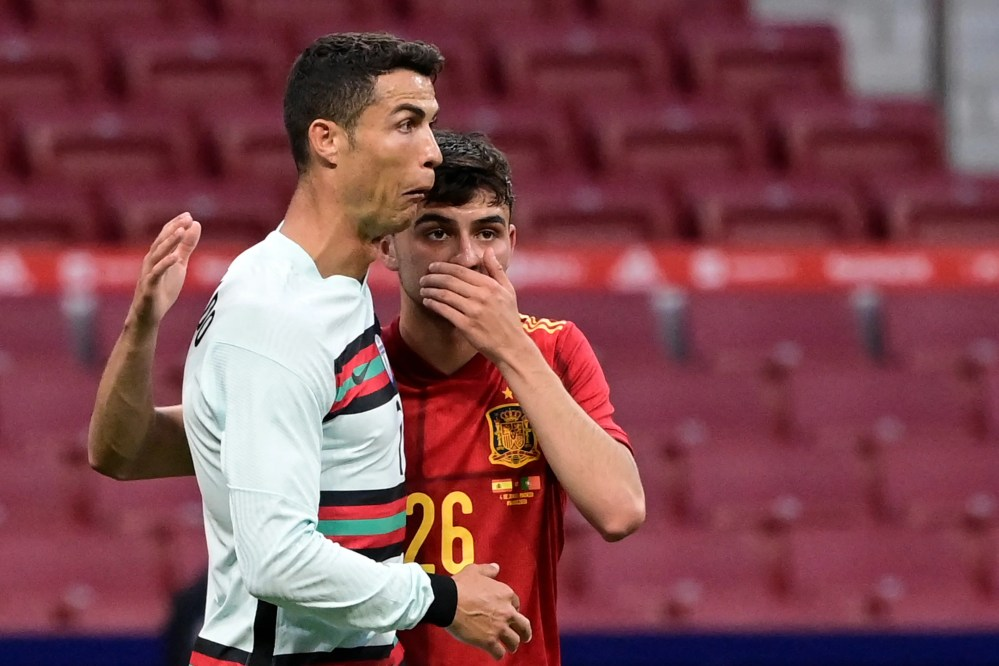 Spain vs Portugal friendly: Cristiano Ronaldo back in Madrid for Euro 2020  warm-up stalemate   Evening Standard