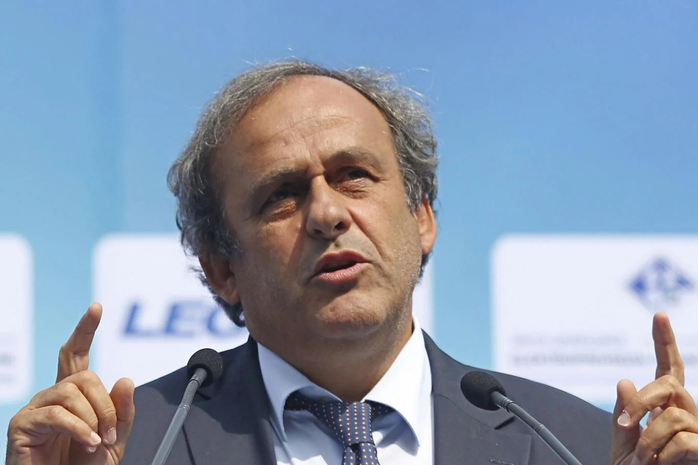 Payment questions: Platini said the payment was for work for Fifa AP