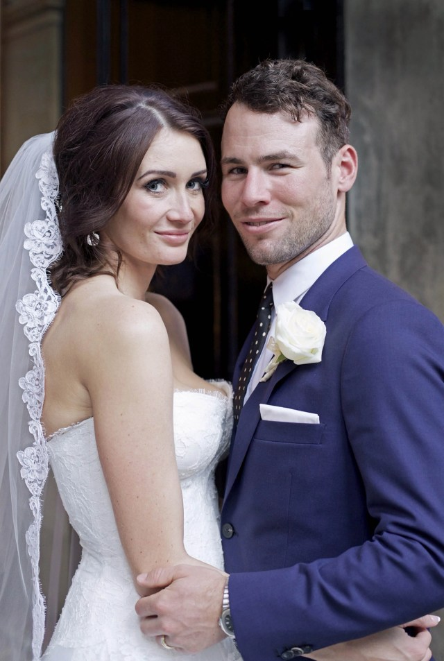 Mark Cavendish Ties The Knot With Model Peta Todd