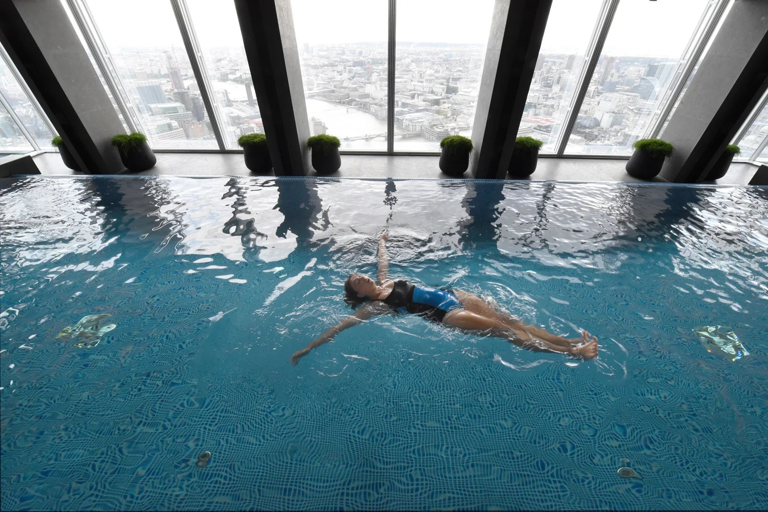 Keep Cool With A Swim At The Top Of The Shard But You
