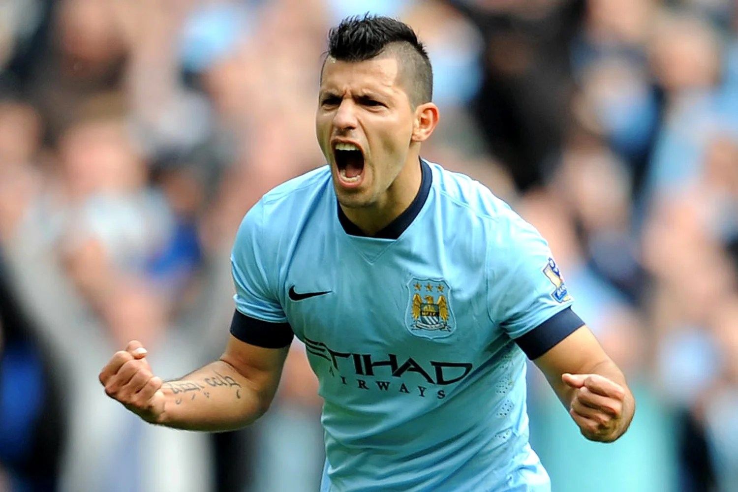 Sam Allardyce Sergio Aguero Is So Dangerous There Is Only