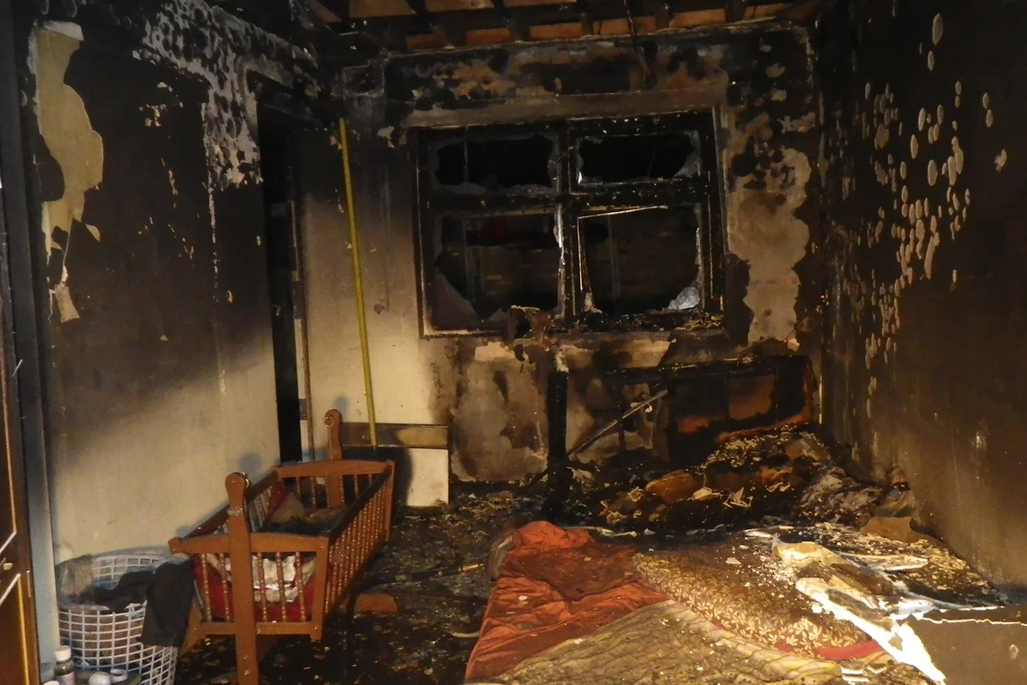 Mum And Four Children Almost Killed By Fire Which Ripped