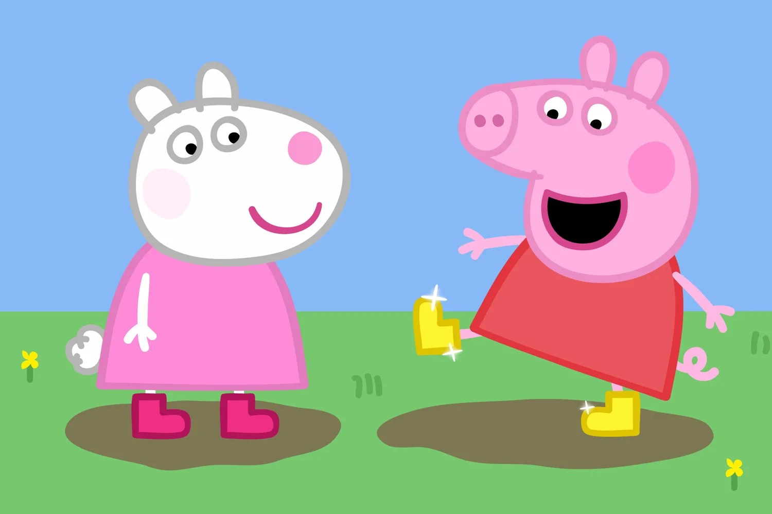 13peppapig0107a Peppa Pig changing accents in US: American parents claim children are talking like Brits after watching show