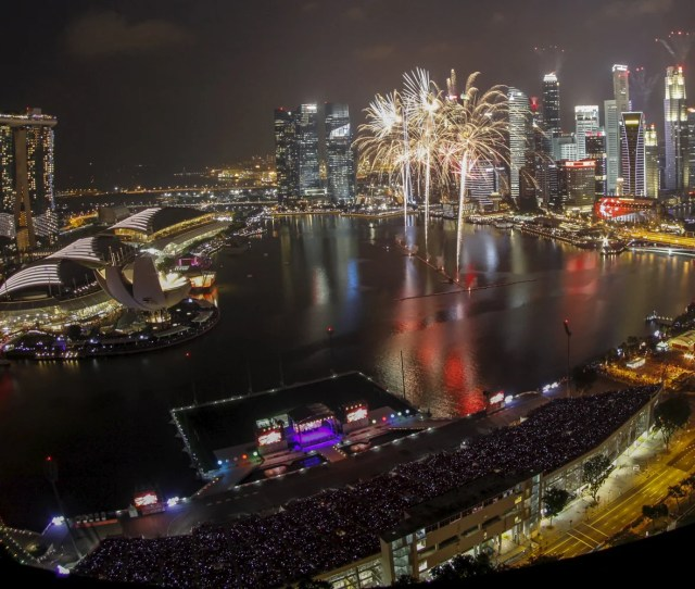Fireworks Explode During Singapores Golden Jubilee Celebrations David Loh Reuters Whether Youre