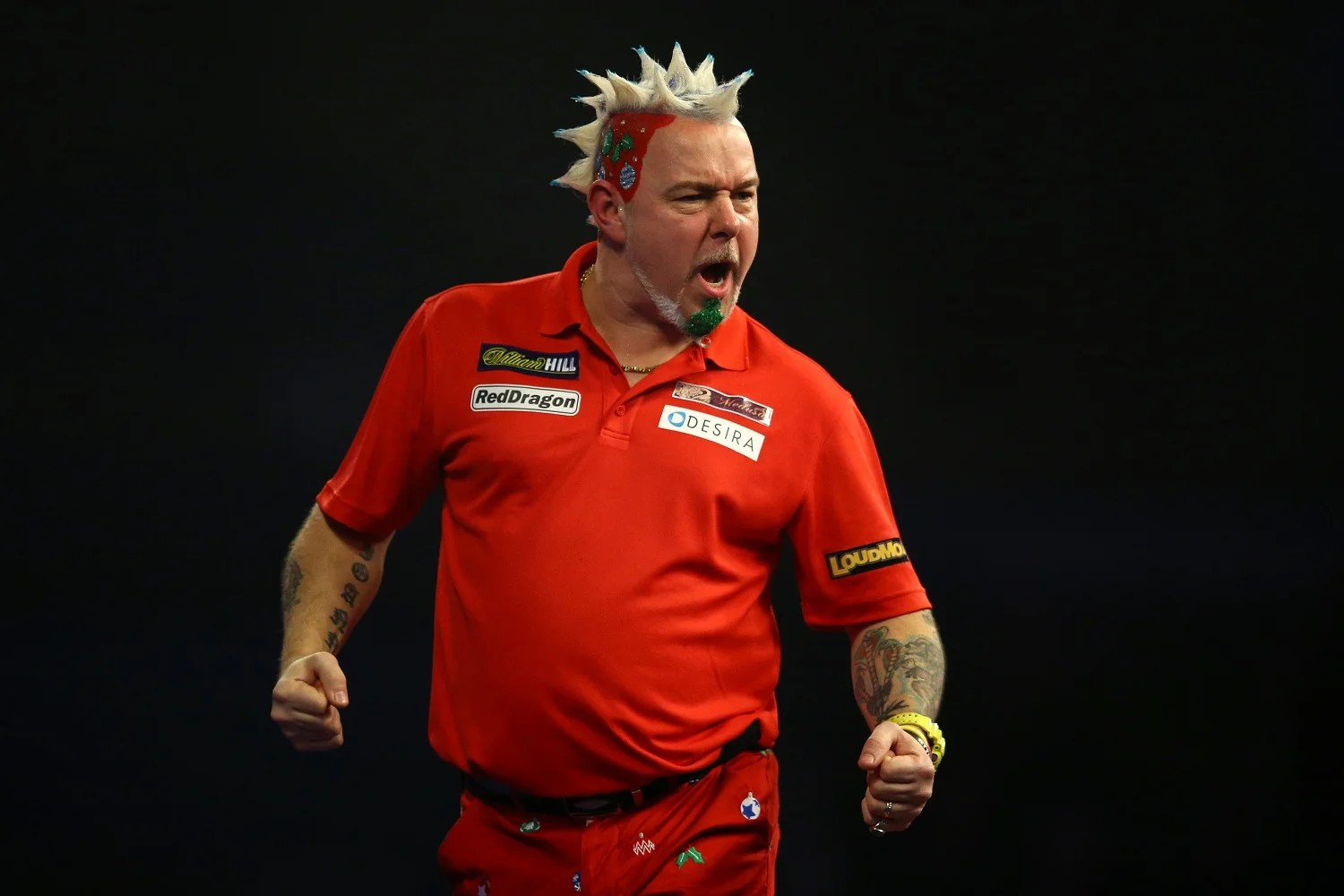 The Many Mohawks Of Darts Star Peter Snakebite Wright