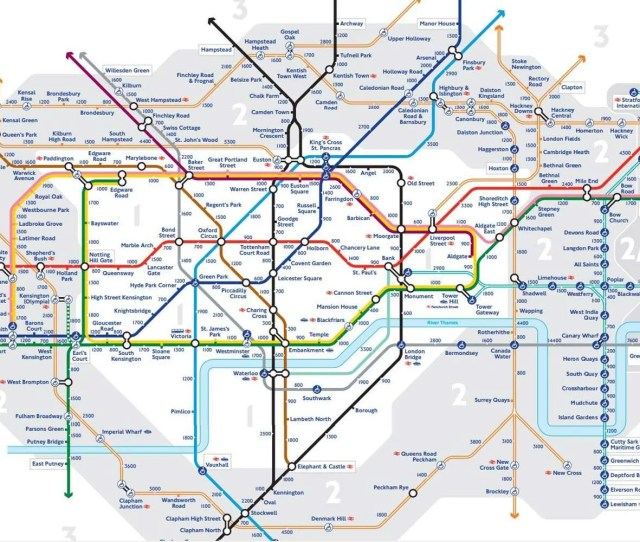 Pioneering The New Walk The Tube Map