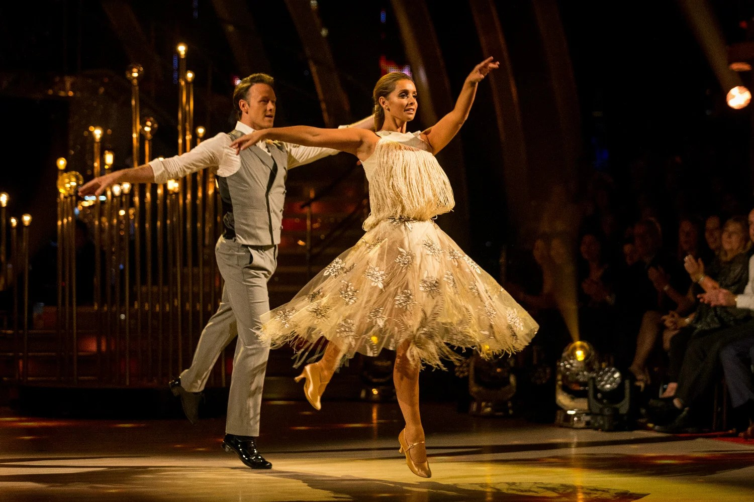 Strictly Come Dancing 2016 Louise Redknapp And Danny Mac