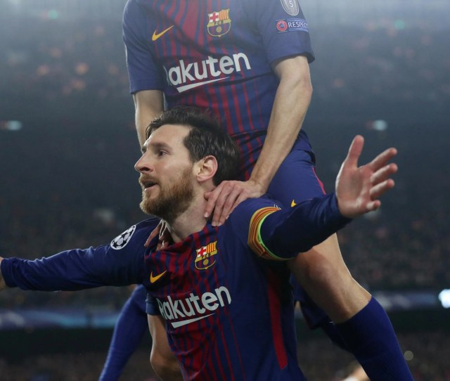 In Pictures Champions League Round Of 16 Second Legs 2017 18