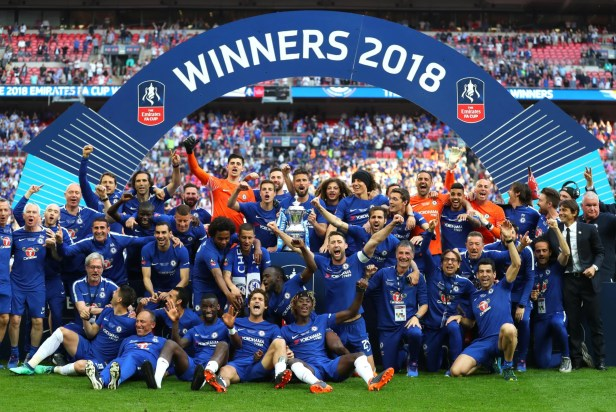 Chelsea's FA Cup Final 2018 victory celebration in pictures ...