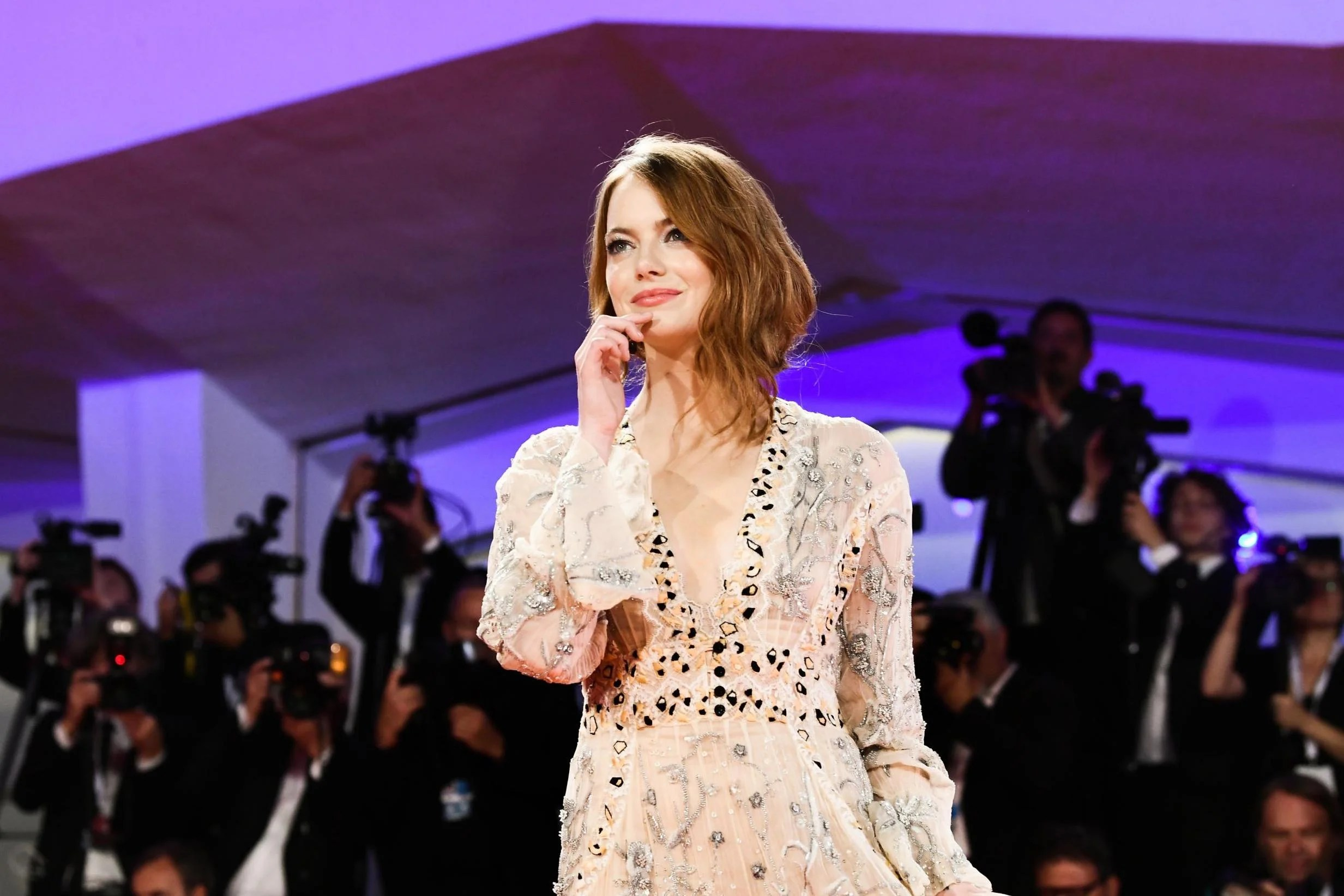 Venice Film Festival Emma Stone And Nicholas Hoult Among