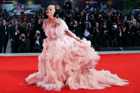 Image result for lady gaga star is born premiere