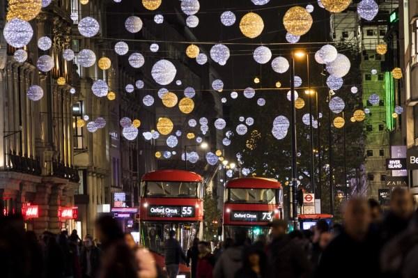christmas lights london 2019 # 15