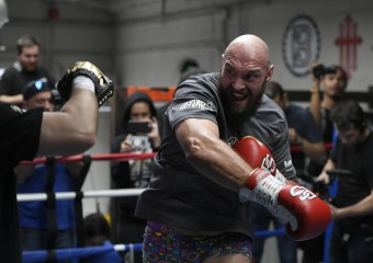 """Tyson Fury on Deontay Wilder: """"He has dynamite power, but I'm not afraid to beat him with him"""""""