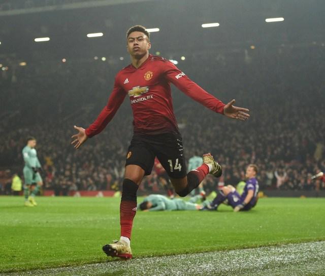 In Pictures Man Utd Vs Arsenal