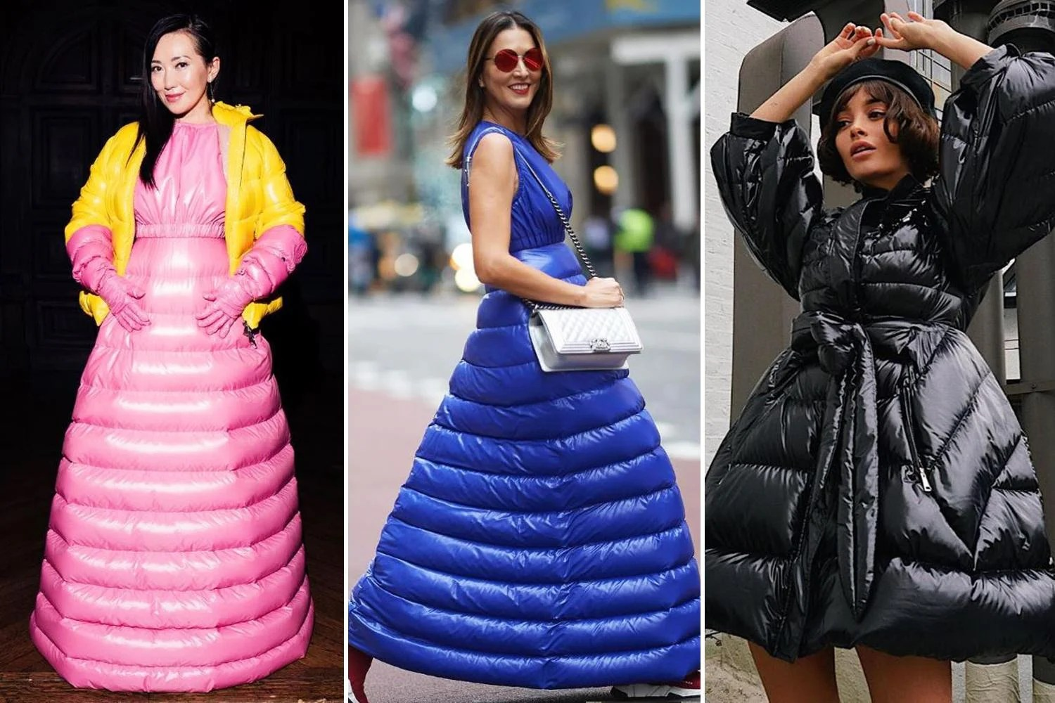 Puffer Dresses Are The Unexpected Winter Trend Of 2018