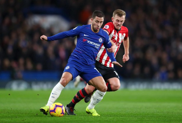 Image result for Chelsea vs Southampton 0-0