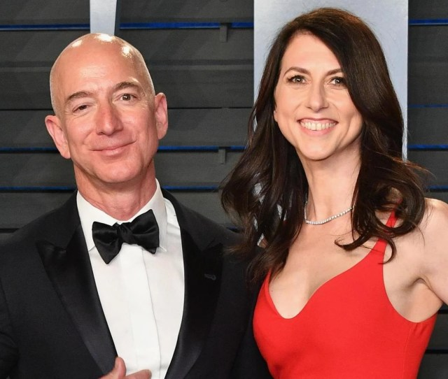Jeff Bezos And Mackenzie Bezos In Pictures