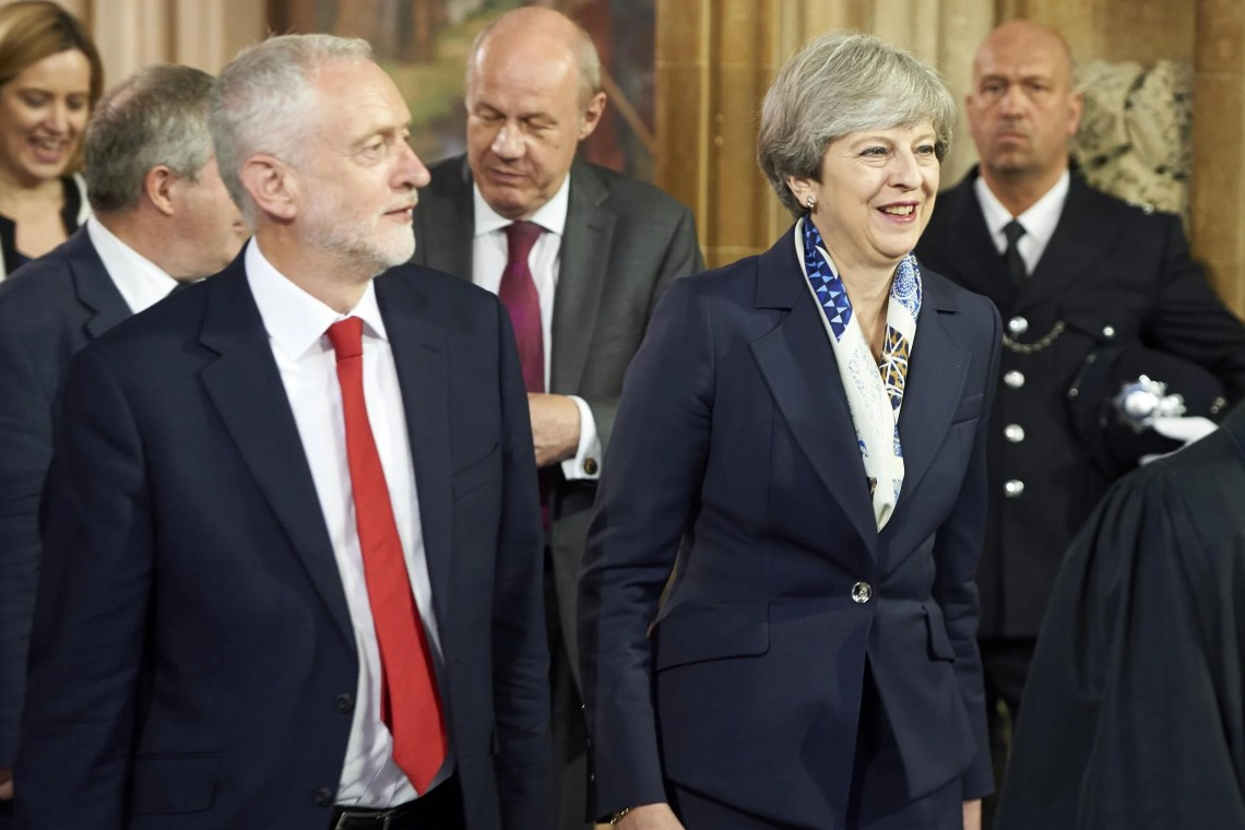 "Theresa May's Plan B was bluntly ruled out by European leaders today just hours before she stood up to announce it to MPs.  Dublin delivered a firm ""No"" to Downing Street's latest bid to go back to Brussels and ask for concessions on the backstop.  And the vice-president of the European Parliament also flatly rejected two other ideas being hastily floated as ways of defusing the Brexit deal: one being to remove the backstop from the EU agreement and replace it with an Anglo-Irish treaty; the other being to rewrite the Good Friday agreement that underpins the peace process.  The triple-No to Mrs May followed a weekend of political confusion as ministers argued over how best to break the deadlock in Parliament and backbenchers plotted openly to seize the reins."