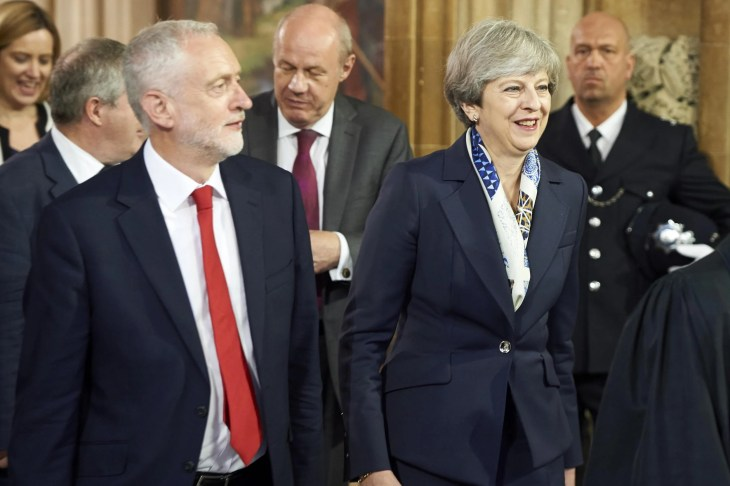 """Theresa May's Plan B was bluntly ruled out by European leaders today just hours before she stood up to announce it to MPs.  Dublin delivered a firm """"No"""" to Downing Street's latest bid to go back to Brussels and ask for concessions on the backstop.  And the vice-president of the European Parliament also flatly rejected two other ideas being hastily floated as ways of defusing the Brexit deal: one being to remove the backstop from the EU agreement and replace it with an Anglo-Irish treaty; the other being to rewrite the Good Friday agreement that underpins the peace process.  The triple-No to Mrs May followed a weekend of political confusion as ministers argued over how best to break the deadlock in Parliament and backbenchers plotted openly to seize the reins."""