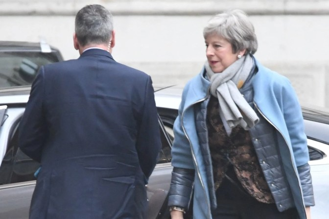 Theresa May is due to set out her Brexit 'plan B' later today