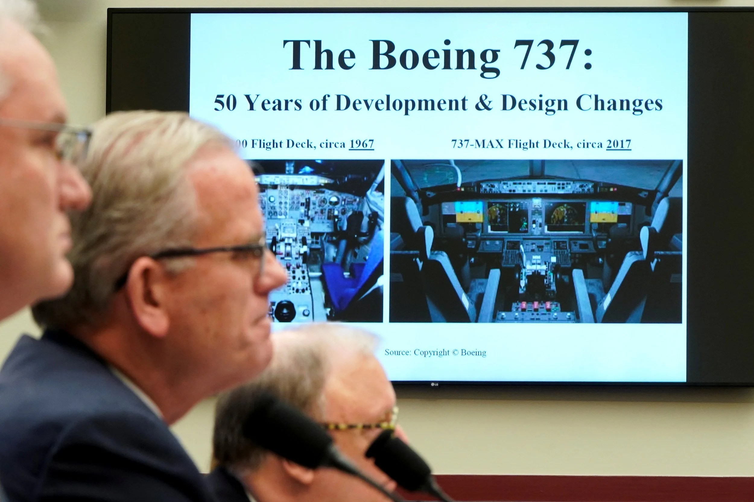boeing1505 US regulator says Boeing 737 Max plane will only fly again when safety is assured following two deadly crashes