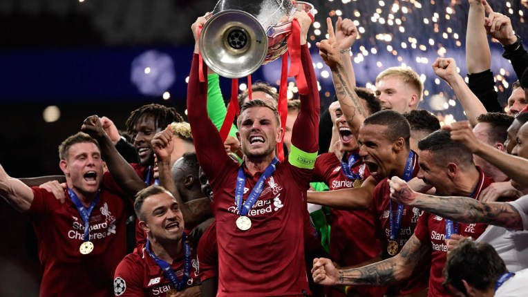 Image result for liverpool win ucl