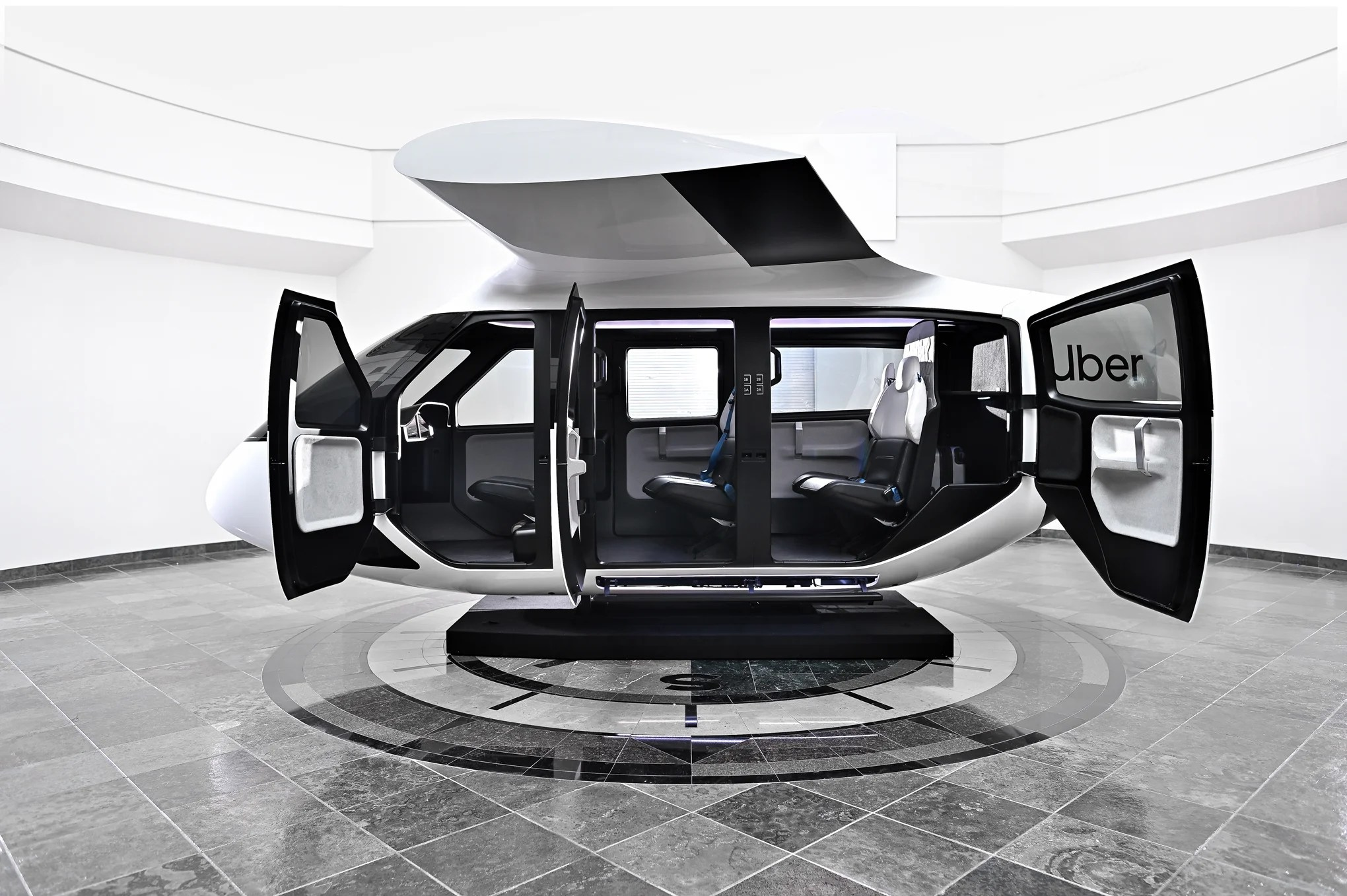 First Glimpse Inside Uber Airs Futuristic Flying Taxis Ahead Of Planned Commercial Launch In 2023 London Evening Standard