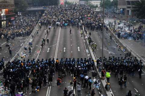 Image result for Hong Kong will reportedly suspend extradition bill that sparked violent protests