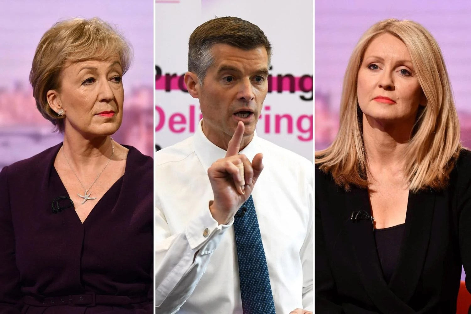 leadsomharpermcvey1306a Mark Harper, Esther McVey and Andrea Leadsom become first MPs to be dumped out of Tory leadership race as Boris Johnson tops poll