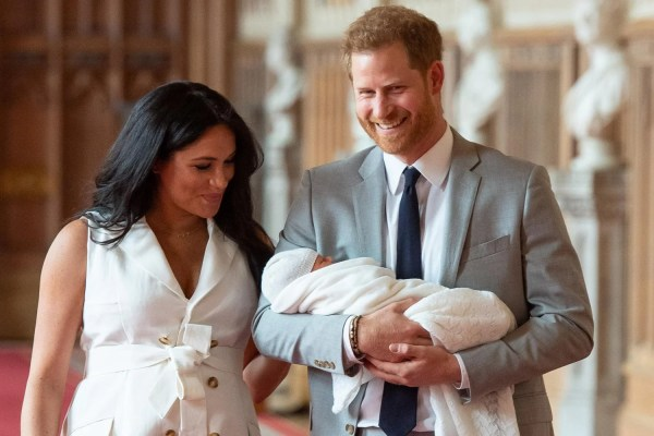 Duke and Duchess of Sussex touch down in South Africa with baby Archie