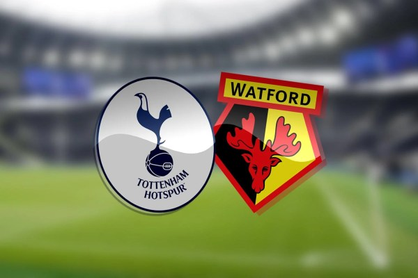 Tottenham vs Watford: Premier League - LIVE!