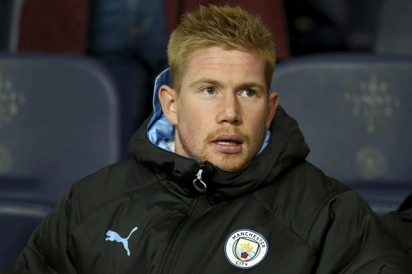 Man City predicted lineup vs Palace: De Bruyne set to return