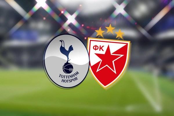 Tottenham vs Red Star: Champions League - LIVE!