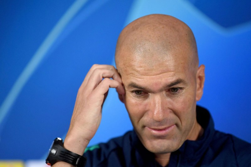 Real Madrid job on the line? Ask someone else, says Zidane