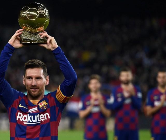Fc Barcelona   Mallorca Live Lionel Messi Scores Hat Trick