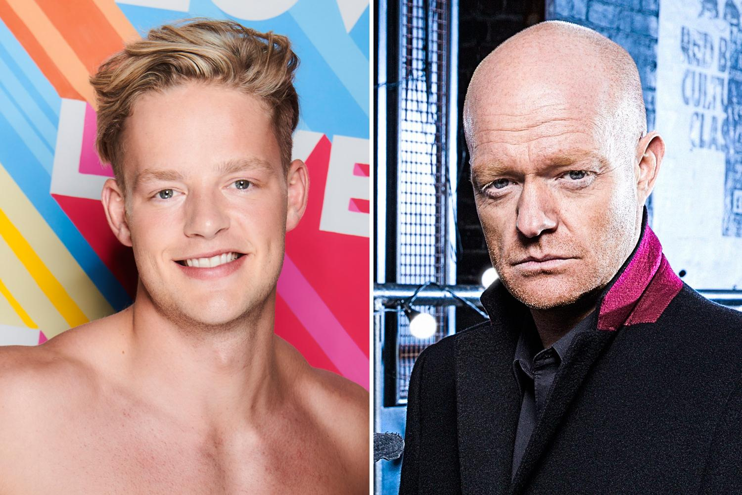 Jake Wood Pokes Fun At Winter Love Island S Ollie Williams With