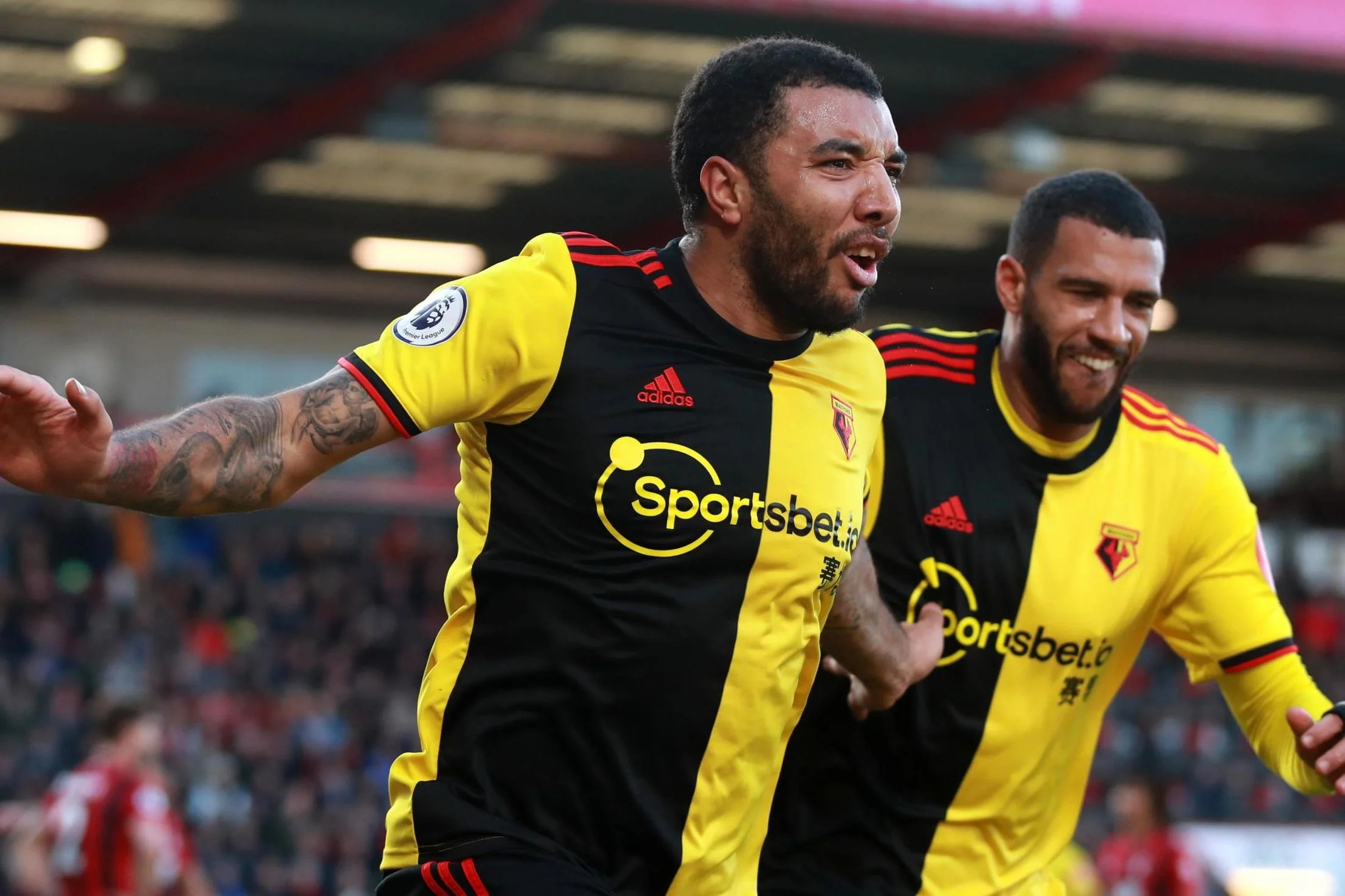Watford Move Out Of Epl's Bottom Three After Thrashing Bournemouth