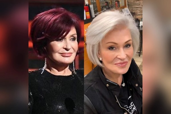 Sharon Osbourne debuts new white hair after dying it red for 18 years