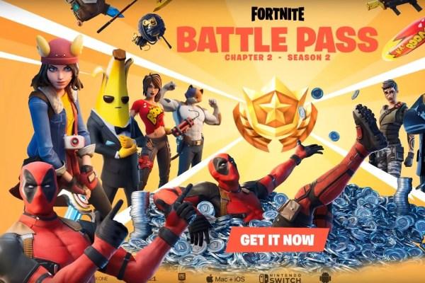 Fortnite Chapter 2: Battle pass, Top Secret trailer and Deadpool