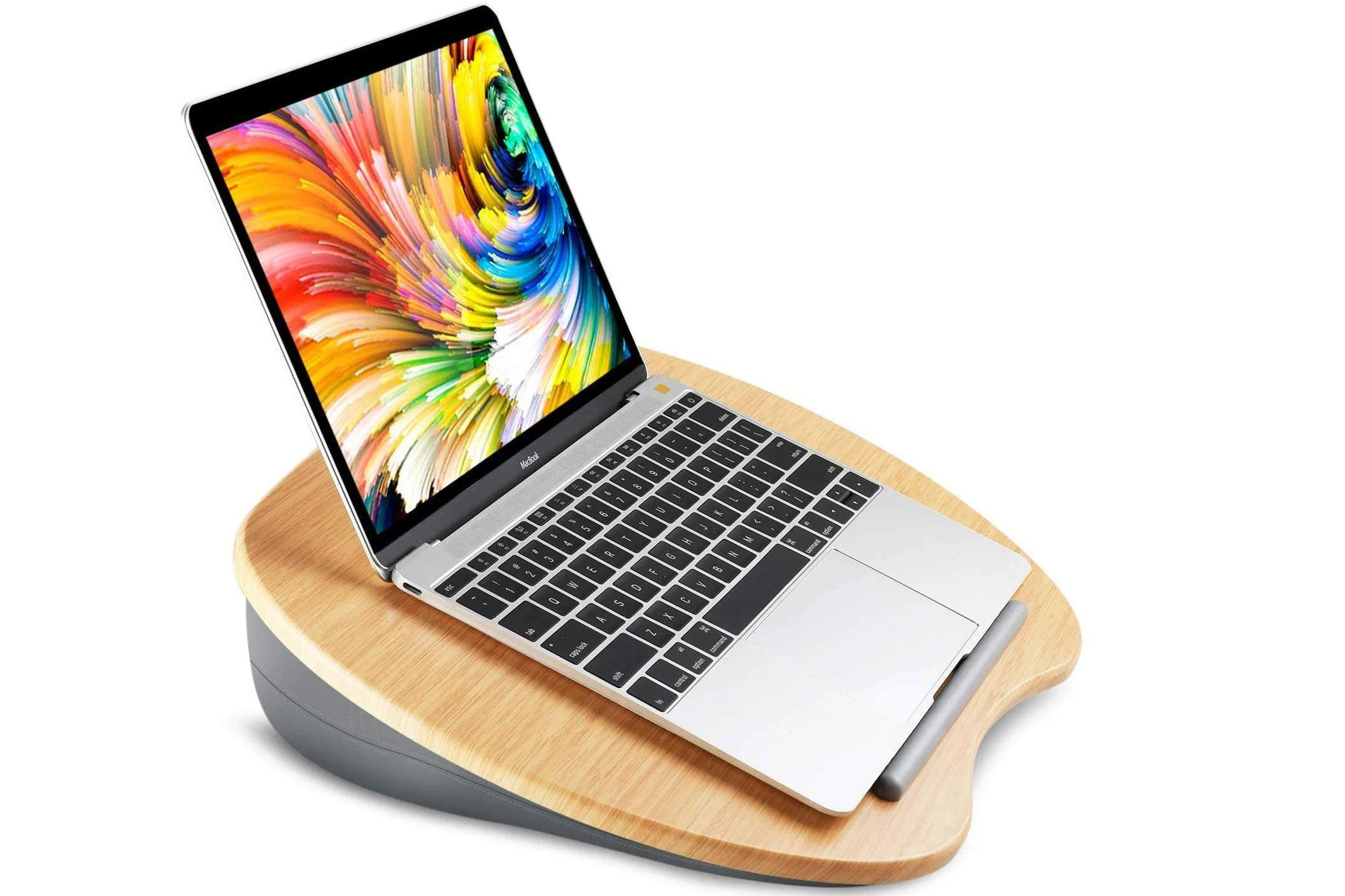 best cushioned lap desks for work and