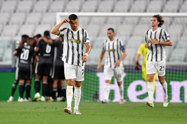 Lyon knock Juventus out of Champions League despite two Cristiano ...