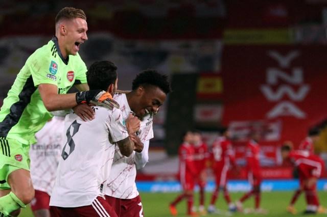 Liverpool Fc Vs Arsenal Live Gunners Win Penalty Shootout 5 4 Plus Carabao Cup Quarter Final Draw Football News 24
