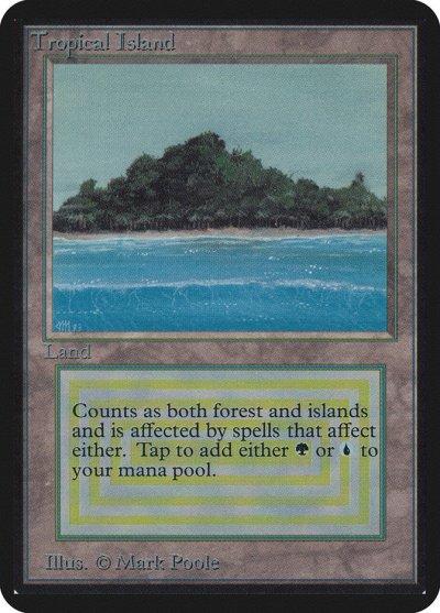 Tropical Island (Magic card)
